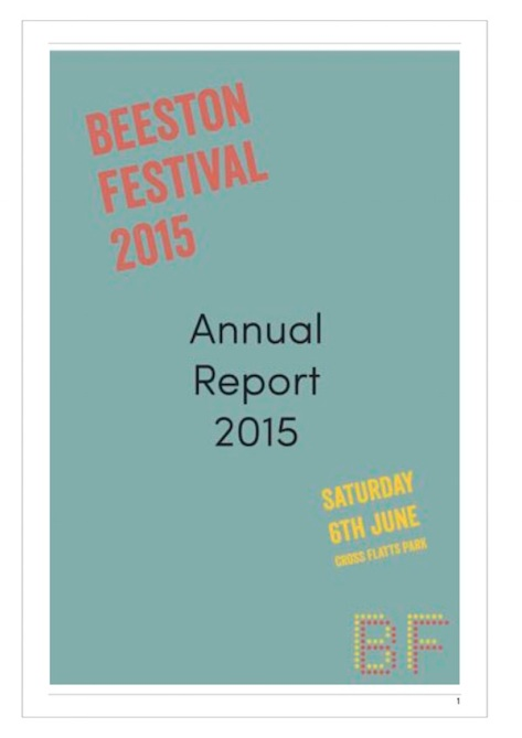BF annual report and accounts 2015
