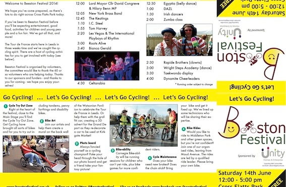 Festival programme released