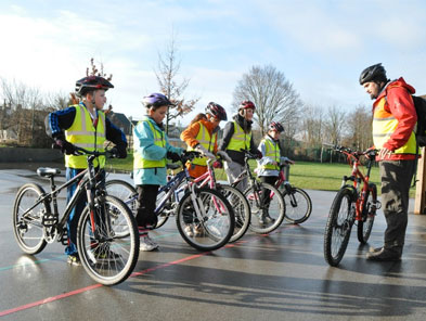 Cycling activities at Beeston Festival