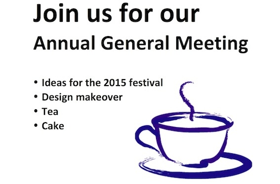 Join us for the festival AGM