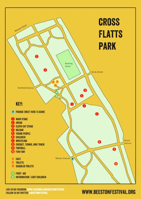 BF 2016 site map