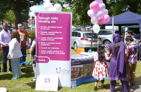 Unity Homes & Enterprise sponsor Beeston Festival